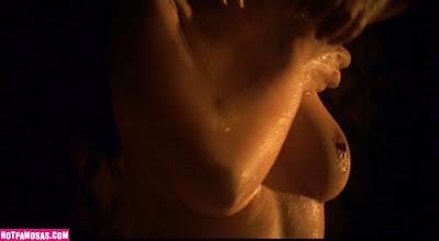Fotos Video Monica Bellucci Desnuda Ducha Tetas Tette Tits Nude Malena
