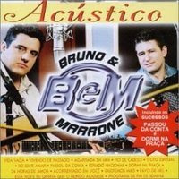 Capa do álbum Bruno e Marrone   Acústico (2000)