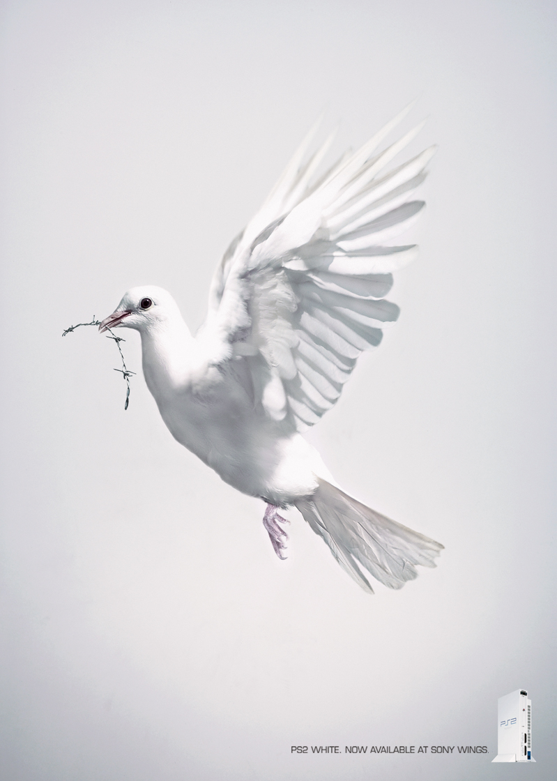 """Paul Guidry: PS2 White """"Dove"""""""