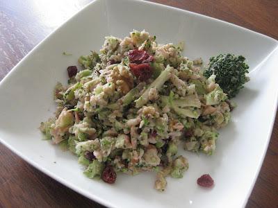 Recipe for brocoli coleslaw
