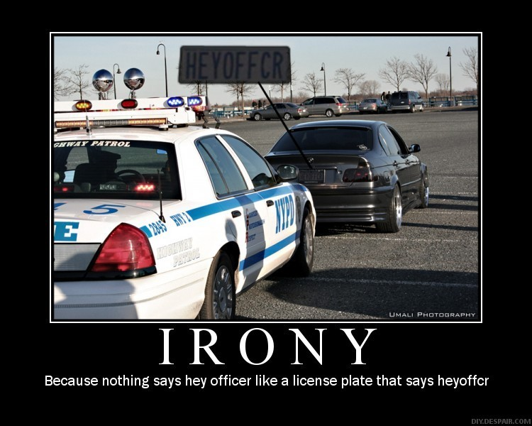 Pics For u0026gt; Examples Of Situational Irony