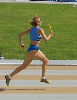 Mirella Giusti nella 4x400