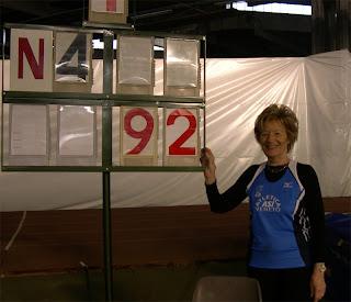 Dina Cambruzzi record nel salto in alto MF75