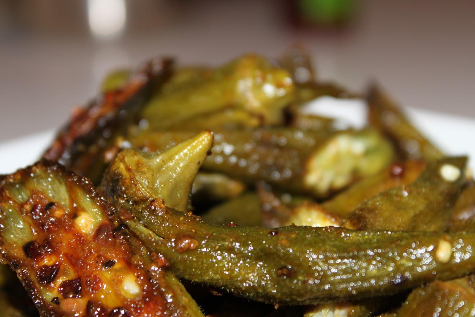 Domestic Divas Blog: Meatless Monday: Spiced Okra