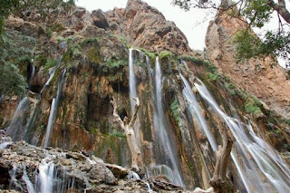 waterfall in Lorestan