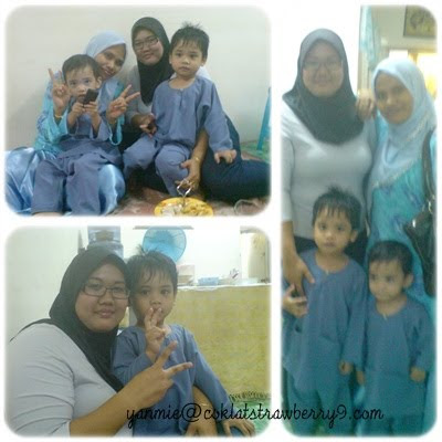 Last Raya bersama Elynn and Family