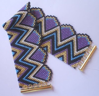 Free Peyote Beadwork Patterns - Mermaids Cove Beads