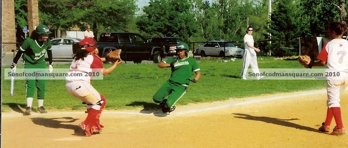 Girls Softball At It&#39;s Best!