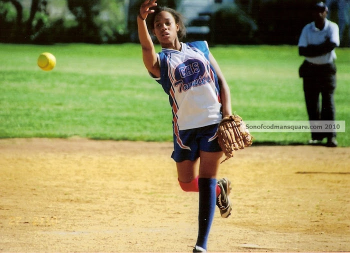 Charlestown H.S. softball pitcher