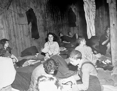 in the Bergen-Belsen concentration camp.) After the arrest of Anne Frank