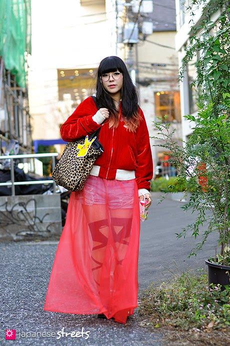 let's talk about.. long transparent skirts