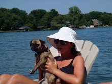 Kalee and Luce on the lake