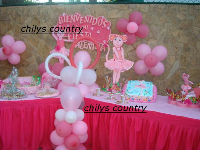 Decoracion De Angelina Ballerina