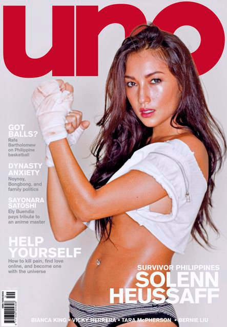 Solenn Heusaff UNO Magazine Photos