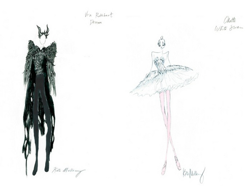 Black Swan finally unveils her wings was my favorite scene especially