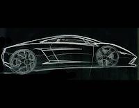 2009 Lamborghini Gallardo LP560-4 Sketch
