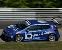 VW Scirocco Race Car At the Ring : New Photo