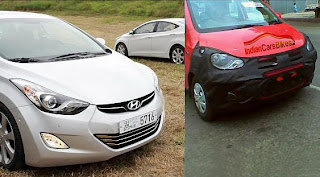Comparison Pic: New Hyundai Elantra & i10