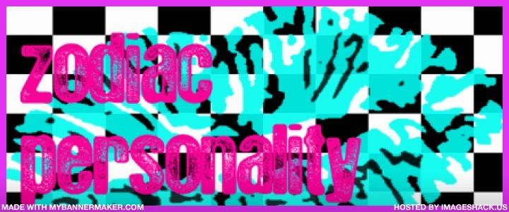 :! zodiac personality !: