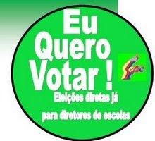 Campanha pelas eleições diretas na rede municipal de ensino