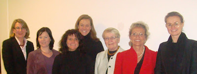 BPW Malmö Board, Eva Carlsvi, Sara Bergman, Anna Arwidson, Heidi Forbes Öste, Tuulikki Juusela (BPWI Past President), Solveig Staffas (BPW Sweden President), Hanne Birk