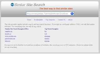 Similar-site.com, Search Engine Pencari Situs Sejenis 1