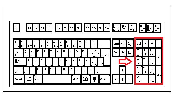 Imagenes del teclado de la computadora para colorear - Imagui