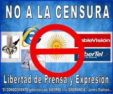 NO a la CENSURA en Argentina