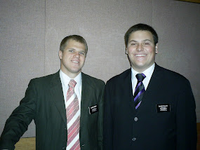 Elder Jensen and Elder Miller
