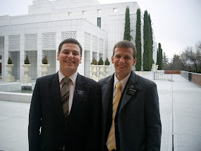 Elder Brown and Elder Miller