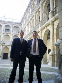 Elder Finlay and Elder Miller