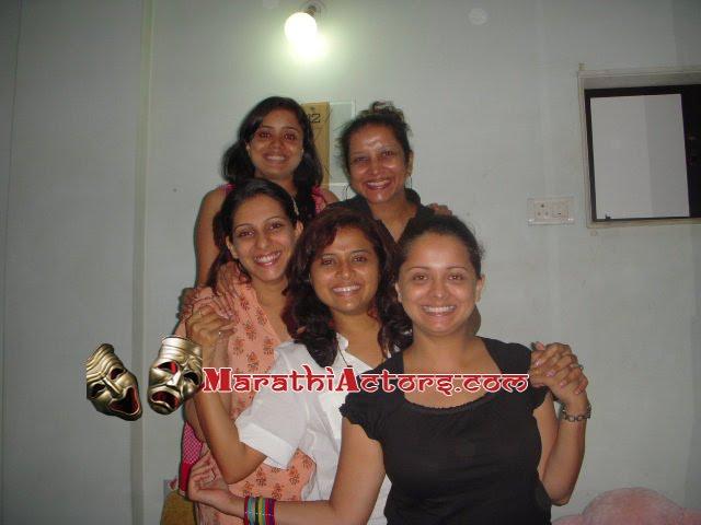 madhura satam with marathi actress
