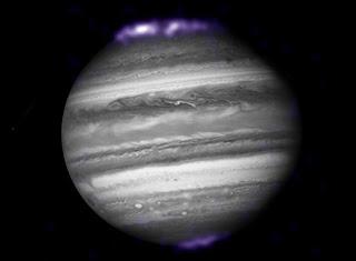 Big Jupiter's auroras