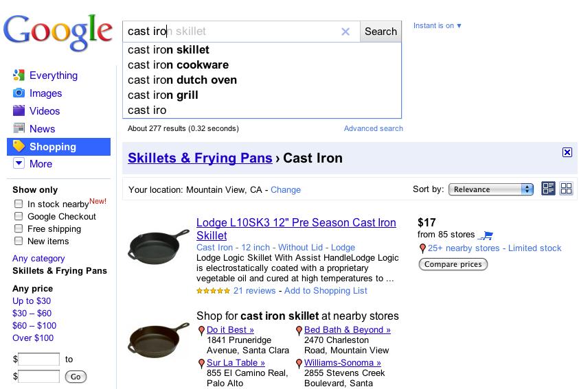 google blog search. (Google Blog Search Result)
