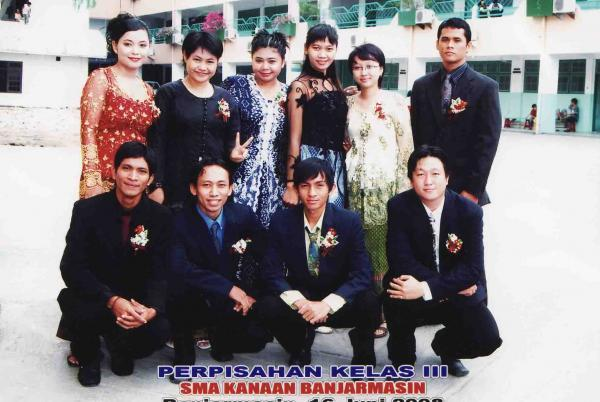 Guru-guru saat wisuda SMA K Kanaan TA.07/08