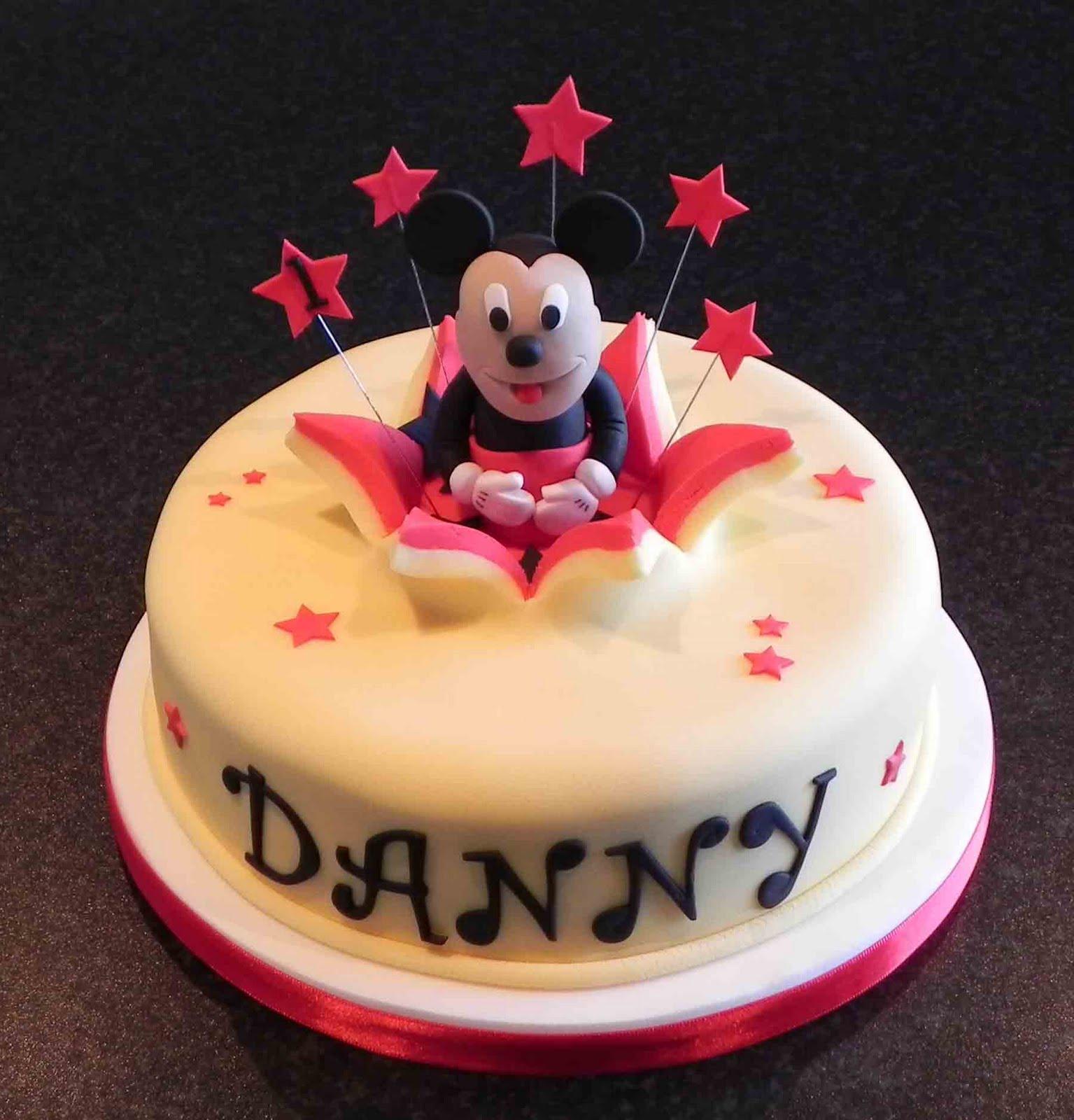 Free Cake Info Mickey Mouse Cake