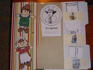 LAPBOOK ( libro fai da te che si ricava da una semplice cartella a tre lembi e qualche foglio di carta colorata) CIMG3130