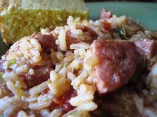 easy sausage jambalaya