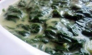 Jalapeno creamed spinach