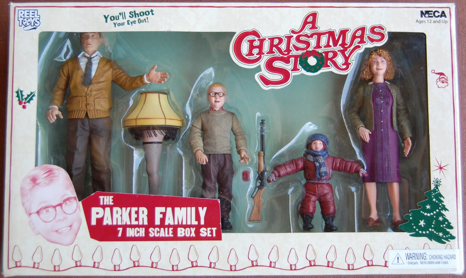 a christmas story the parker family 7scale box set