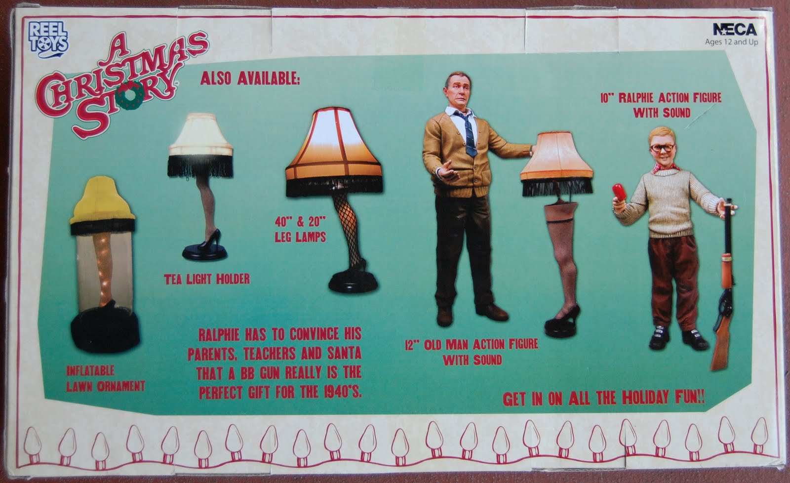 a christmas story the parker family 7scale box set mrs parker mr parker ralphie parker randy parker neca 2007