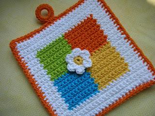 Monkey Crochet Potholders - Beginner Crochet Patterns