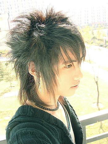 Yusufs Blog Gaya Fashion Rambut Harajuku Dan Emo Hair Style - Gaya rambut pendek emo