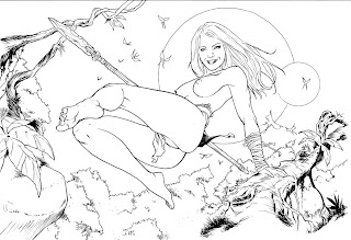 Ma dédicace personnelle  dans Aegnor cavewoman001-net