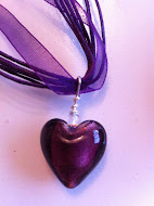 Ellie's Purple Heart Necklace