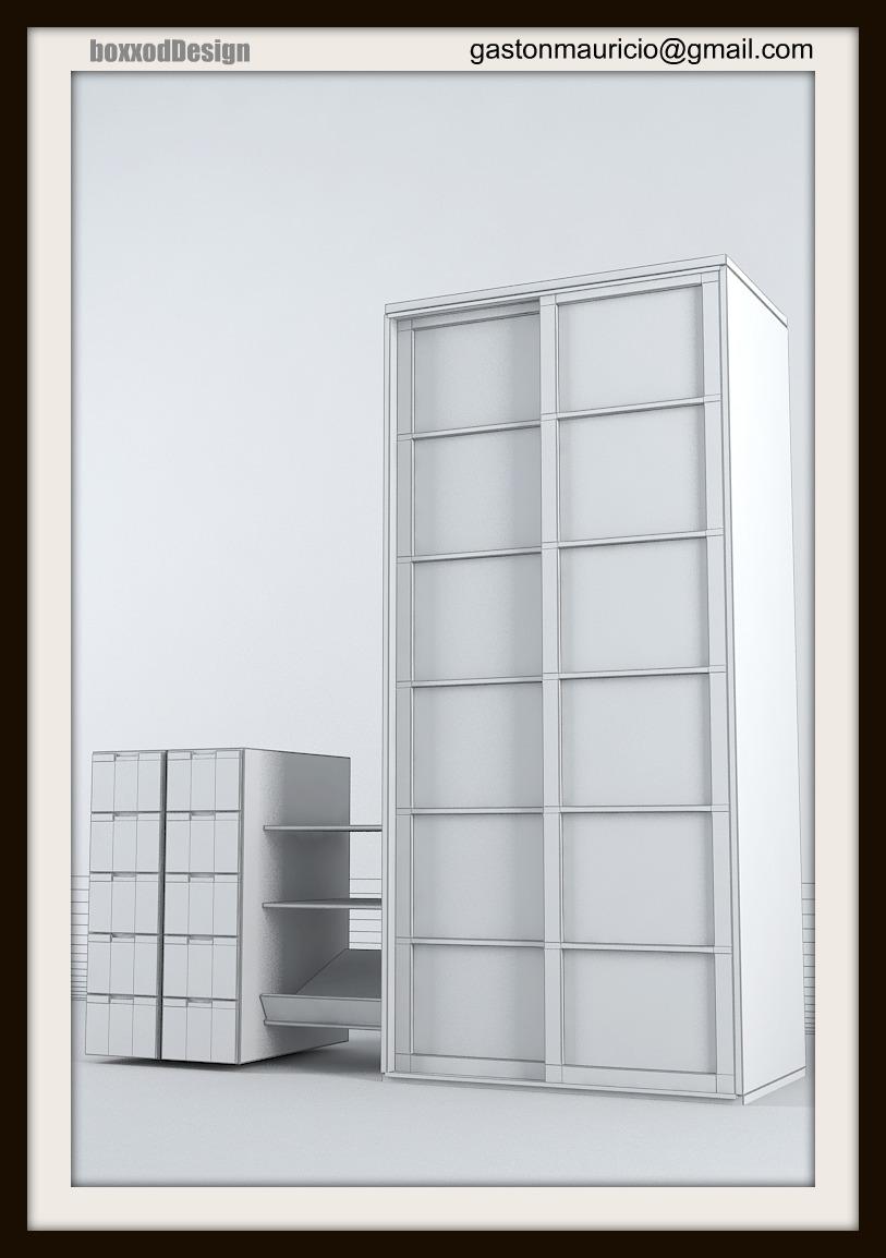 boxxodDesign:::: Muebles 3D concept