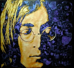 John Lennon.  9th October 1940 - 8th December 1980
