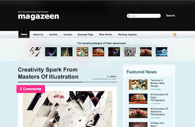 MAGAZEEN WP THEME FULL
