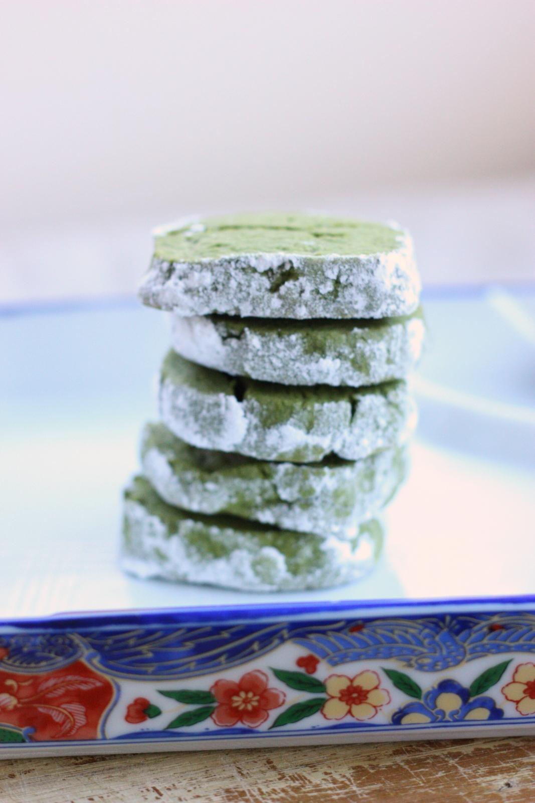 baking = love: Baking for Hospice: Matcha Green Tea Shortbread