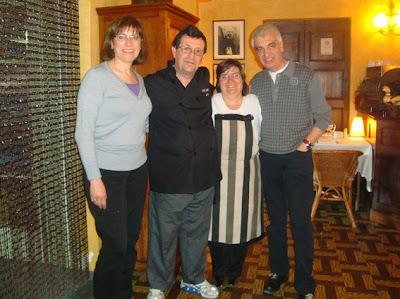 la Glòria, el Josep Fanals, la Rosa i el Josep
